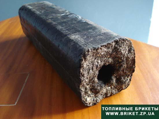 Как сделать брикет из угольный пыли